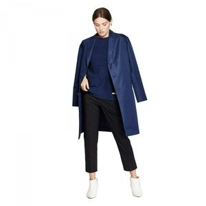 NWT Prologue Oversized Trench Coat Small Blue